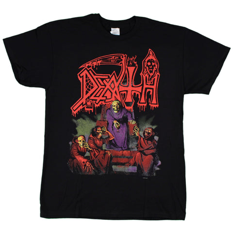 Death Scream Bloody Gore With Back Print T-Shirt