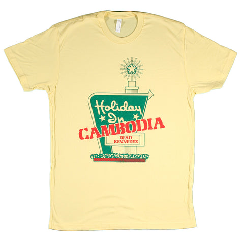 Dead Kennedys Holiday In Cambodia Slim Fit T-Shirt