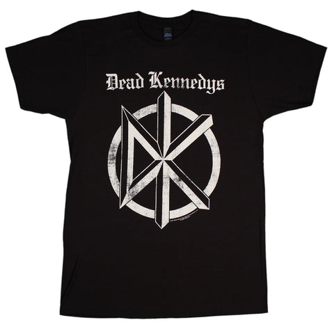 Dead Kennedys Distressed Old English Logo Slim Fit T-Shirt