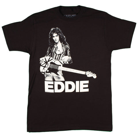 Edward Van Halen Photo Slim Fit T-Shirt