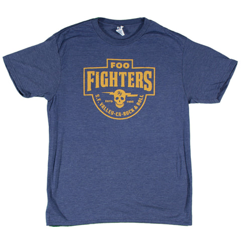 Foo Fighters S.F. Valley Slim Fit T-Shirt
