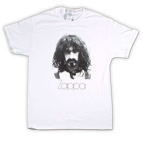 Frank Zappa Zapped Face Photo T-Shirt