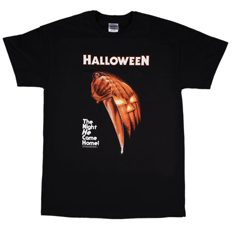 Halloween 1978 Poster Night He Came Come T-Shirt