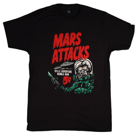 Mars Attacks Space Adventure Slim Fit T-Shirt