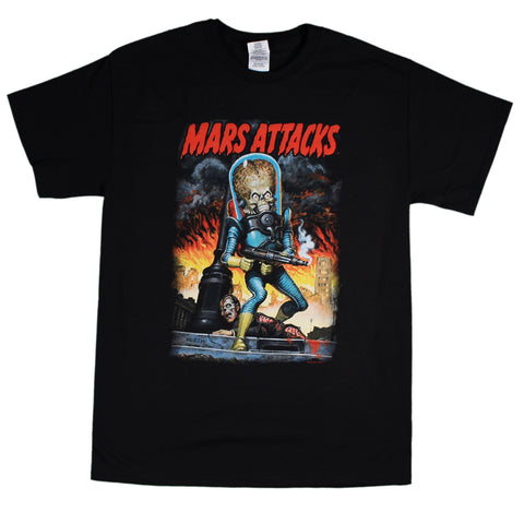 Mars Attacks City Destruction T-Shirt