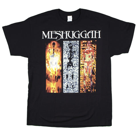 Meshuggah Destroy Erase Improve with back print T-Shirt