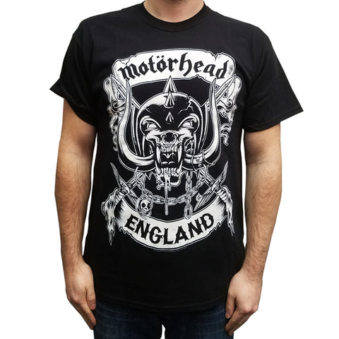 Motorhead Crossed Swords England T-Shirt