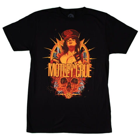 Motley Crue MC Girl Slim Fit T-Shirt