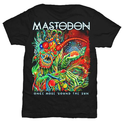 Mastodon Once More Round The Sun Slim Fit T-Shirt