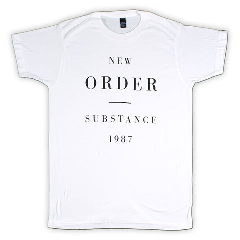 New Order Substance 1987 Slim Fit T-Shirt