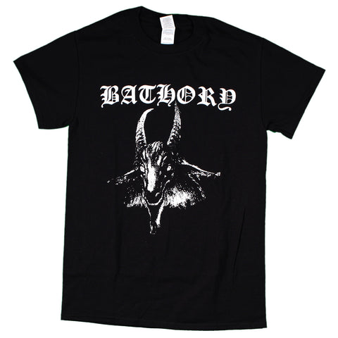 Bathory Goat With Back Print T-Shirt