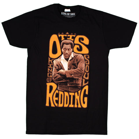 Otis Redding King of Soul Slim Fit T-Shirt