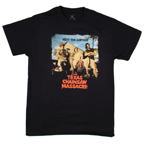 Texas Chainsaw Massacre Meat The Sawyers T-Shirt