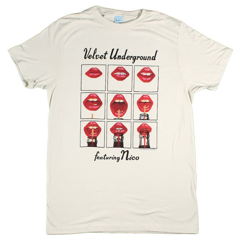 Velvet Underground Featuring Nico Lips Slim Fit T-Shirt