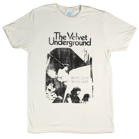 Velvet Underground- White Light/White Heat Slim Fit T-Shirt