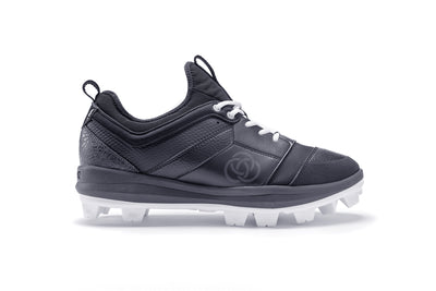 Athalonz GF2 Molded Baseball & Softball Cleats - Black