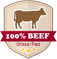 100% Gras-Fed Beef