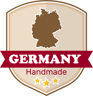 Made in Berlin, Germany by Hand