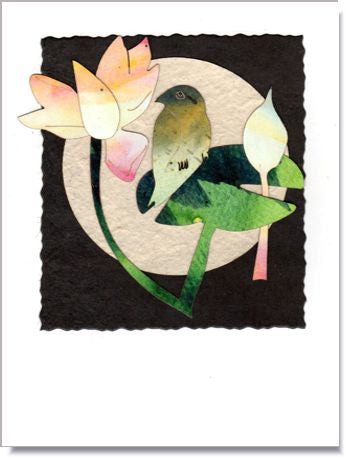 Lotus Moon Greeting Card ~ 1003