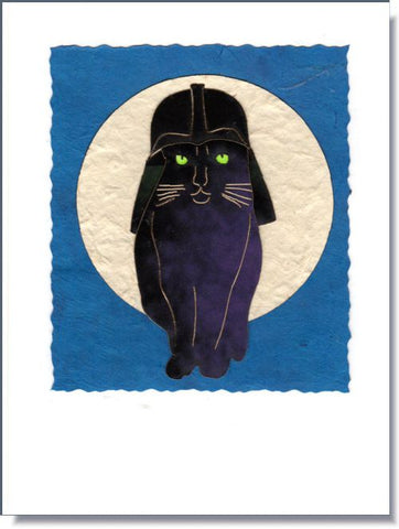 Darth Vadar Cat ~ 1040