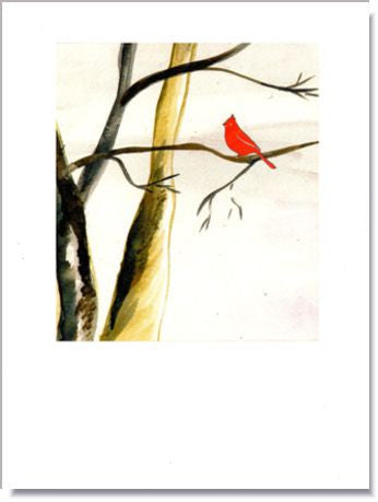 Winter Cardinal Greeting Card ~ 1206