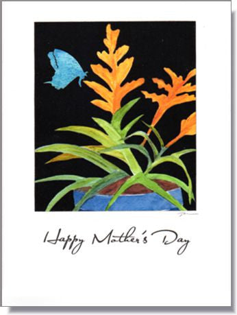 Bromeliad Greeting Card ~ 1261