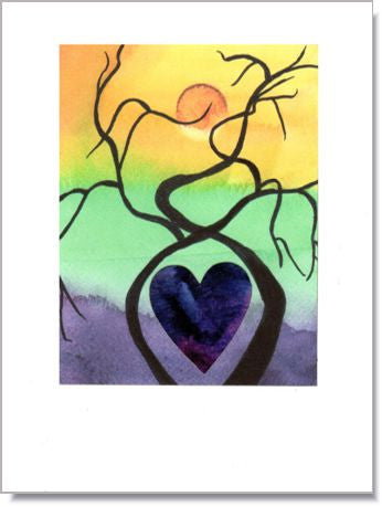 Love Trees Greeting Card ~ 1271