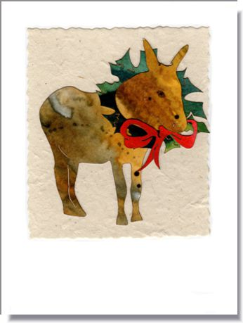 Donkey with Wreath  ~ 1640