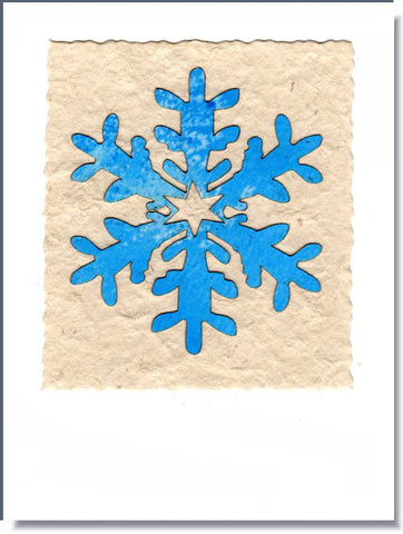 Snowflake III Greeting Card ~ 1673