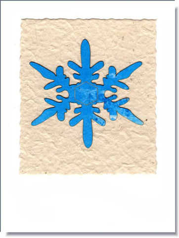 Snowflake IV Greeting Card ~ 1674
