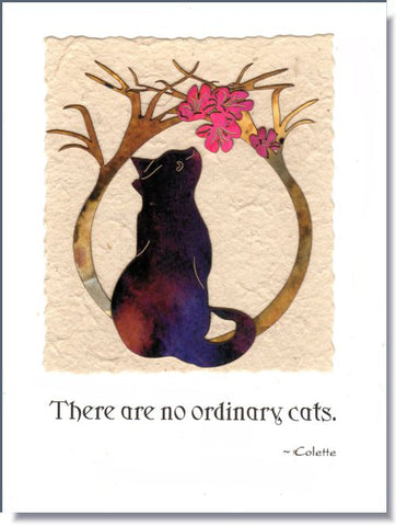 Cat Handmade Greeting Card ~ 1676