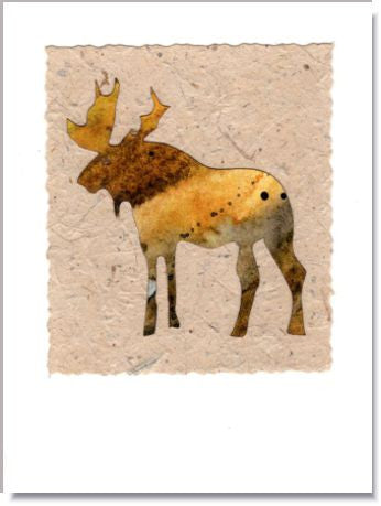 Moose Greeting Card ~ 269