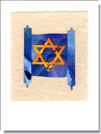 Torah Greeting Card ~ 496