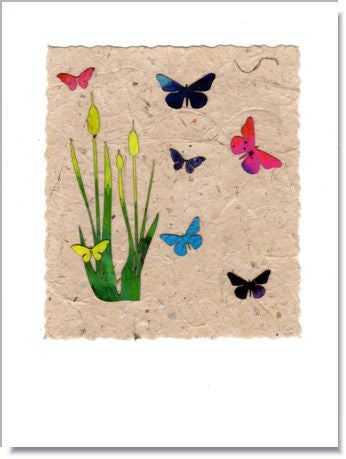 Butterfly Marsh Greeting Card ~ 723