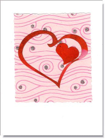Open Heart Greeting Card ~ 741