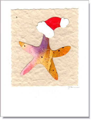 Starfish Greeting Card ~ 887