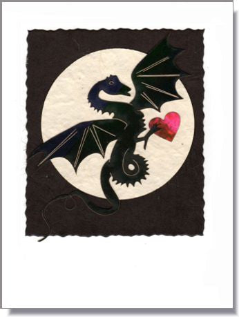 Dragon Moon with Heart ~ 983