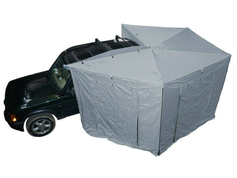 Ventura 270 Degree Foxwing Awning + Walls