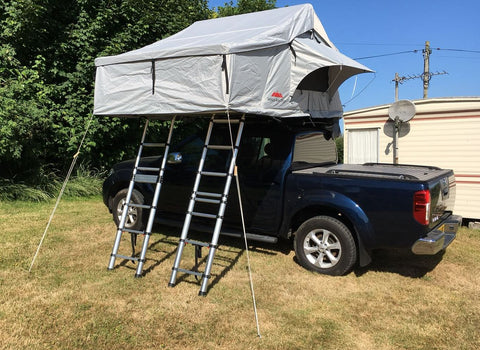 Extended Twin Ladder Ventura Deluxe 1 8 Ventura Roof Tents