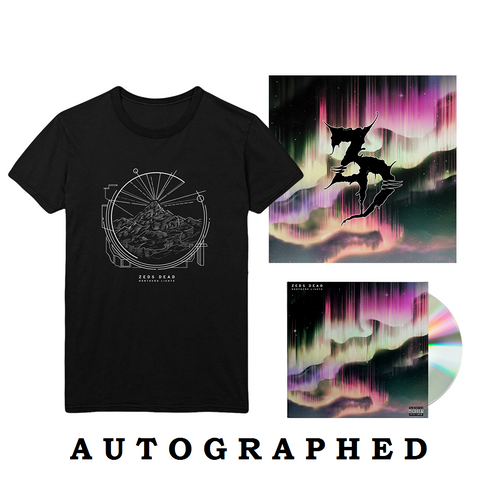 "Northern Lights CD + 12""x12"" Litho + T-Shirt"