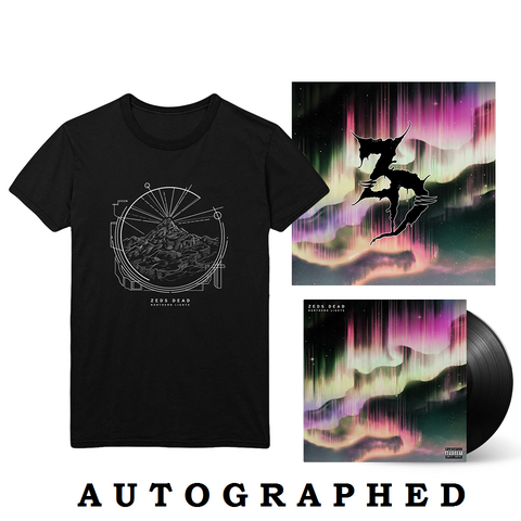 "Northern Lights LP + 12""x12"" Litho + T-Shirt"