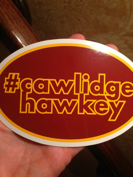 #cawlidgehawkey Car Magnet
