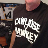 Cawlidge Hawkey Logo T-shirt white & black