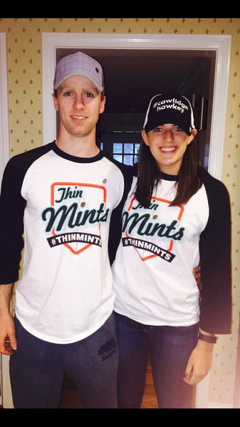 Thin Mints Logo Baseball Shirt