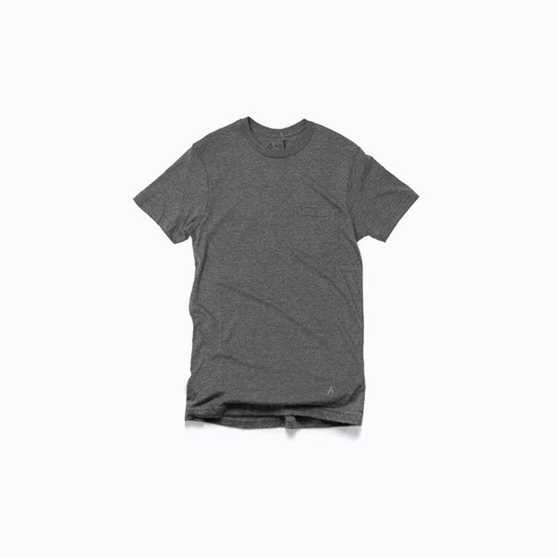 Grey Pocket Tee