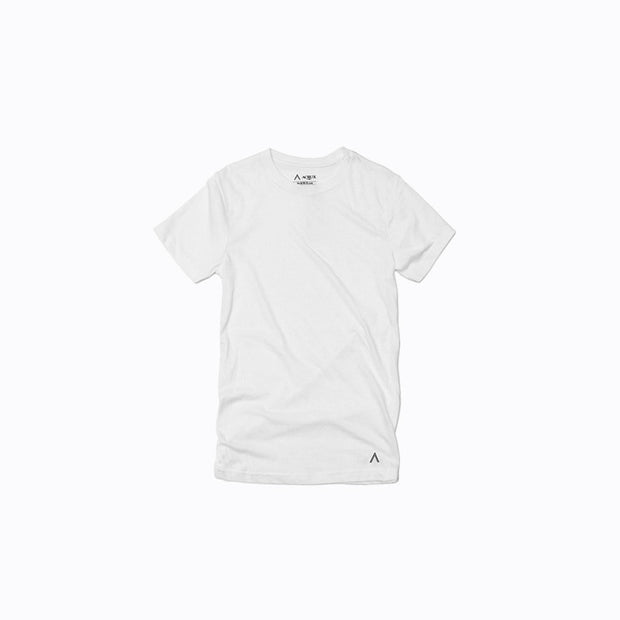 North & Acrux White Premium Tee