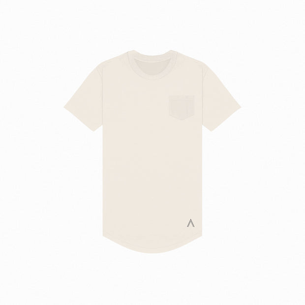 North & Acrux Bone Premium Scoop Tee