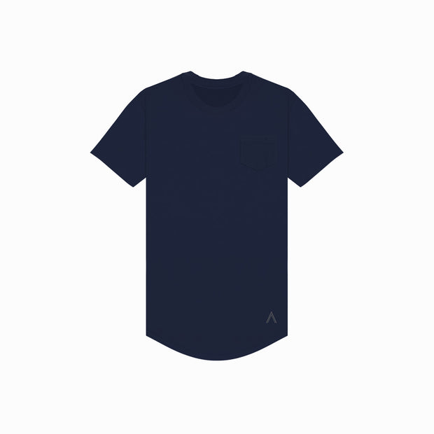 Navy Premium Scoop Tee