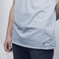 Sky Blue Unfinished Tee