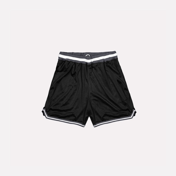 North & Acrux Black Mesh Basketball Shorts